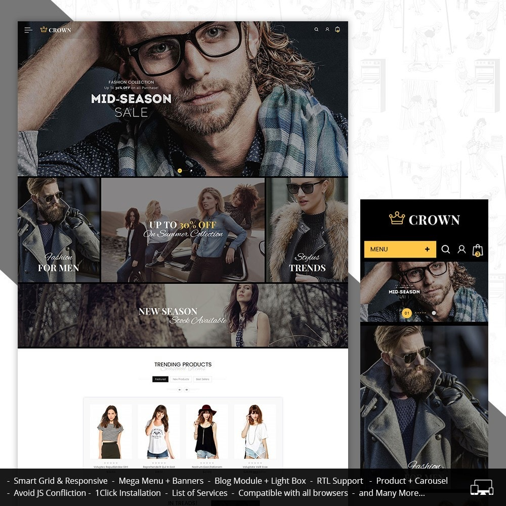 theme - Moda & Calzature - Fashion Store - 2