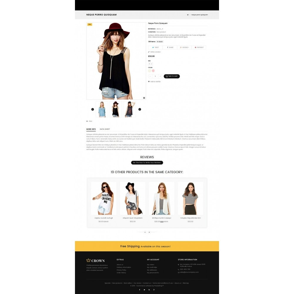 theme - Moda & Calzature - Fashion Store - 5