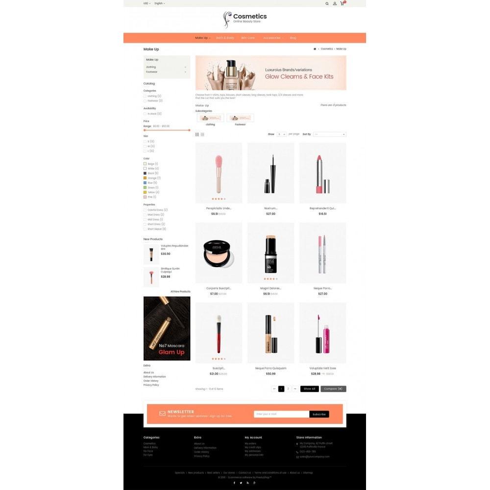 theme - Santé & Beauté - Cosmetic Store - 4