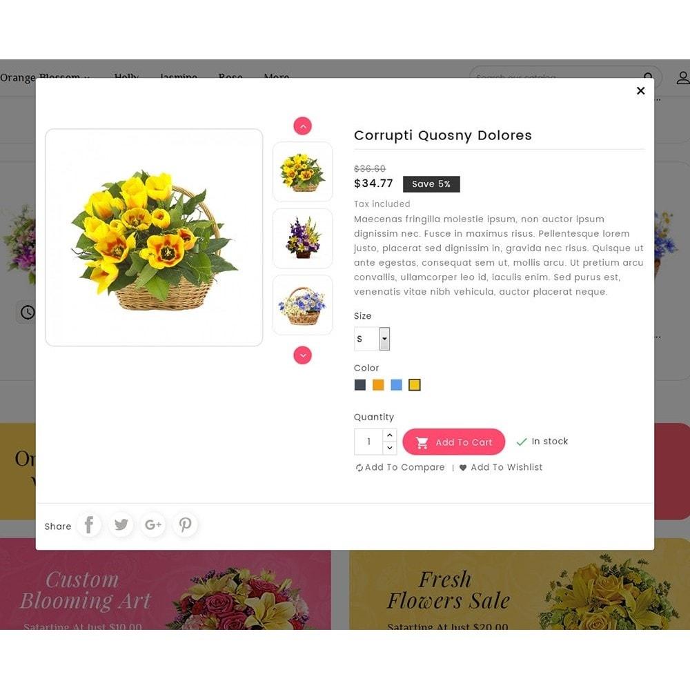 theme - Casa & Giardino - Floral Pan Bloom Works - 8