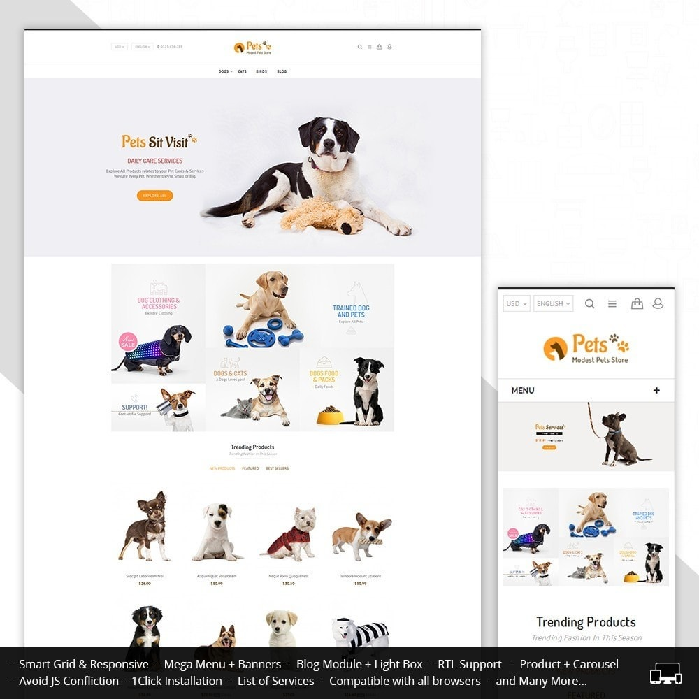 Animal Pets Store