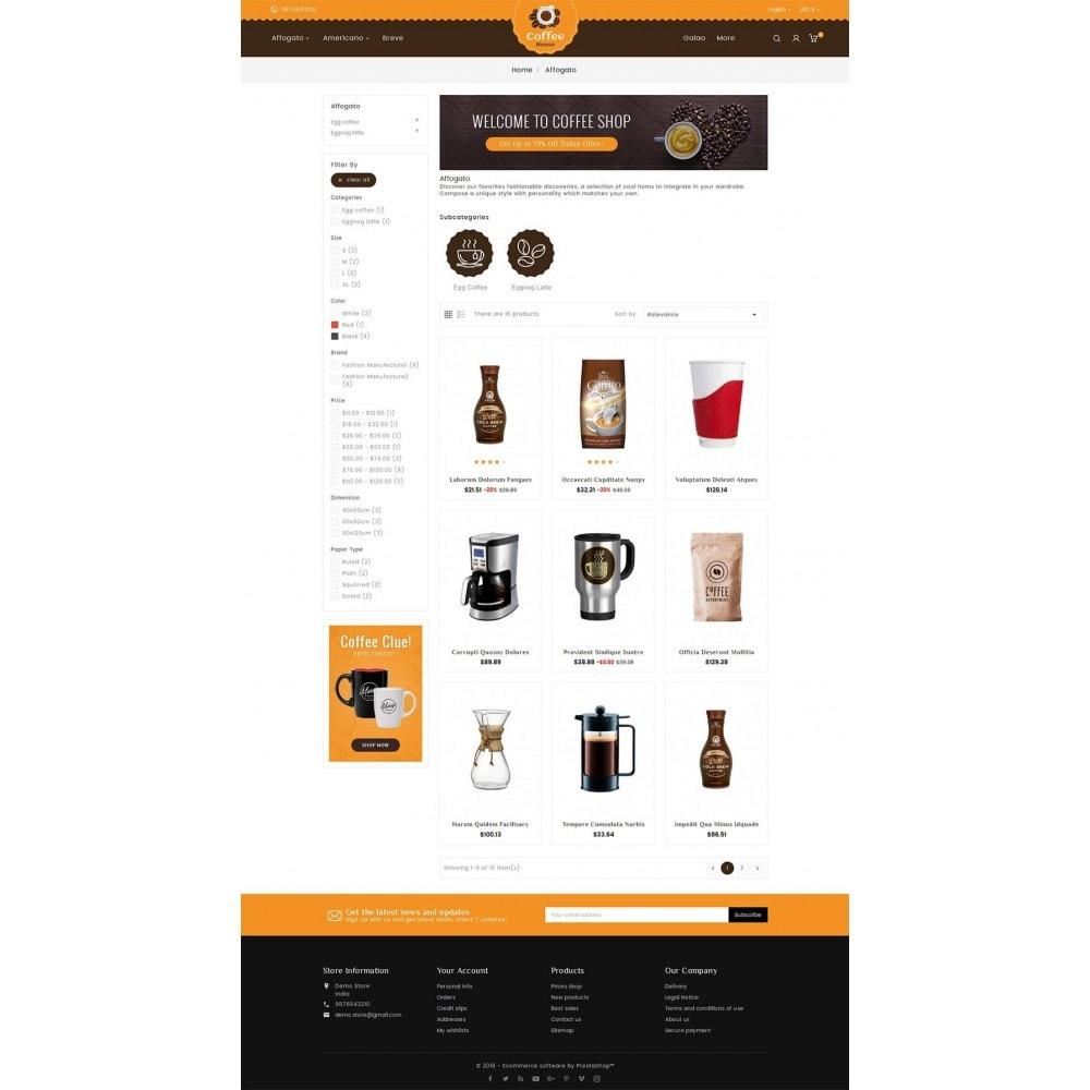 theme - Alimentation & Restauration - Coffee House - 4