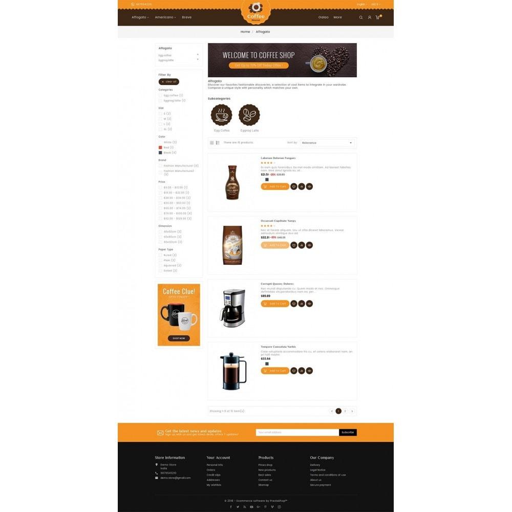 theme - Alimentation & Restauration - Coffee House - 5