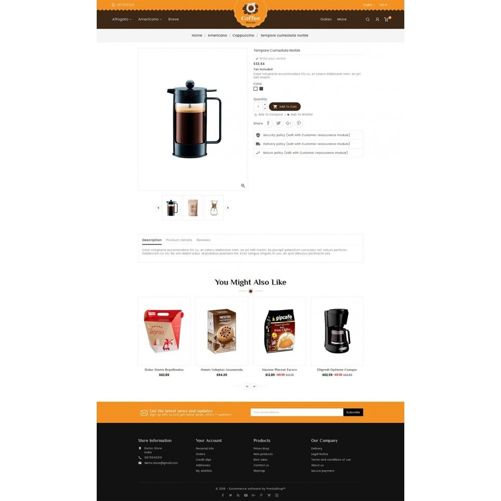 theme - Lebensmittel & Restaurants - Coffee House - 6