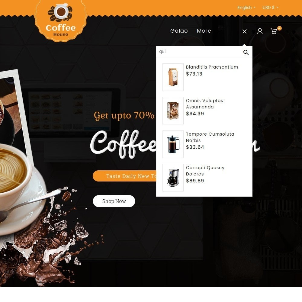 theme - Lebensmittel & Restaurants - Coffee House - 10