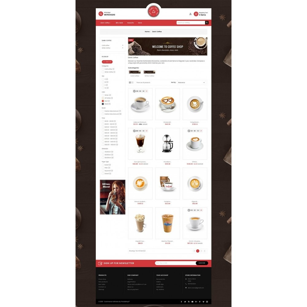 theme - Lebensmittel & Restaurants - Coffee Cafe Shop - 4