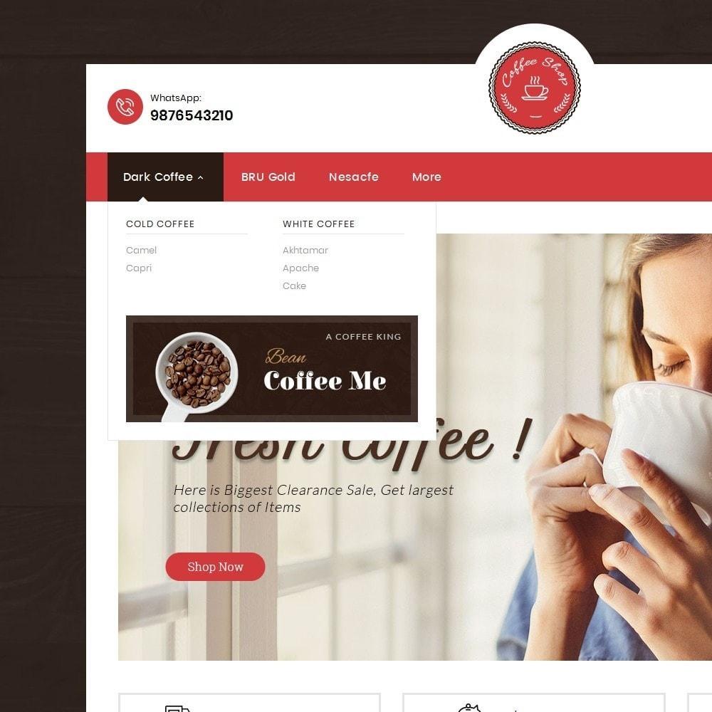 theme - Lebensmittel & Restaurants - Coffee Cafe Shop - 9
