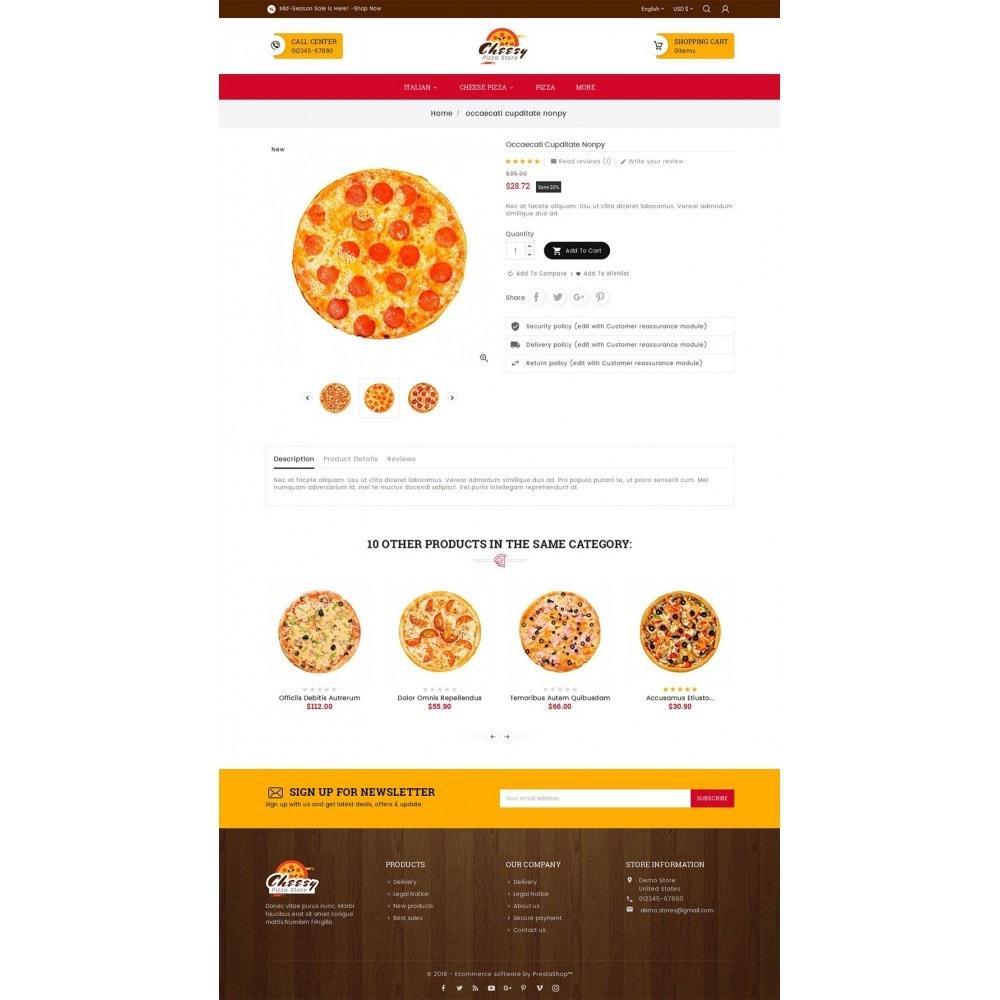 theme - Cibo & Ristorazione - Cheesy Pizza - Fast Food - 6