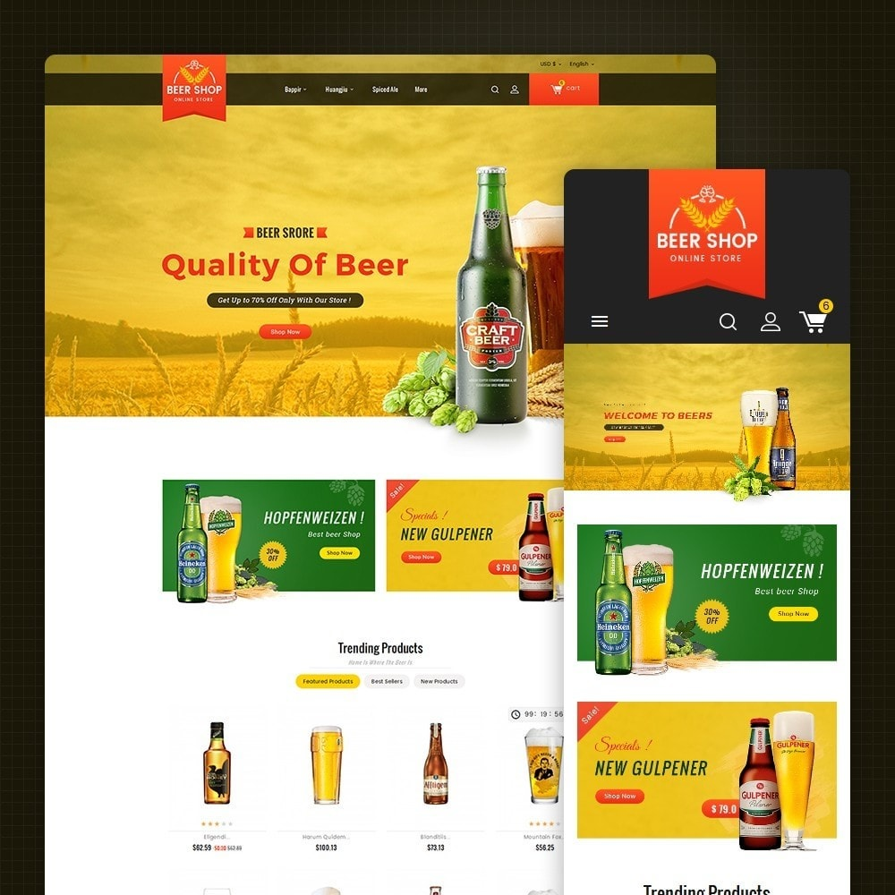theme - Bebidas y Tabaco - Beer & Winery - 2