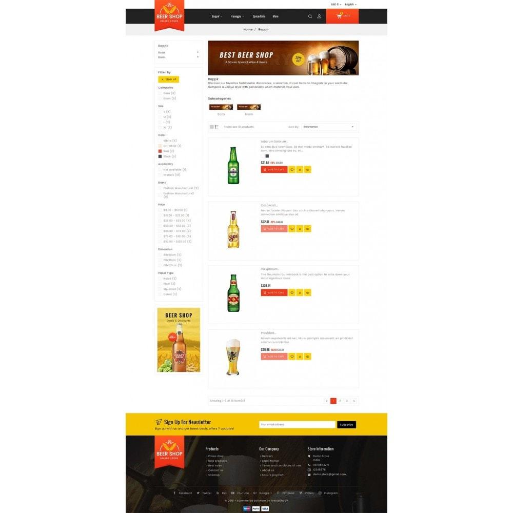 theme - Bebidas y Tabaco - Beer & Winery - 5