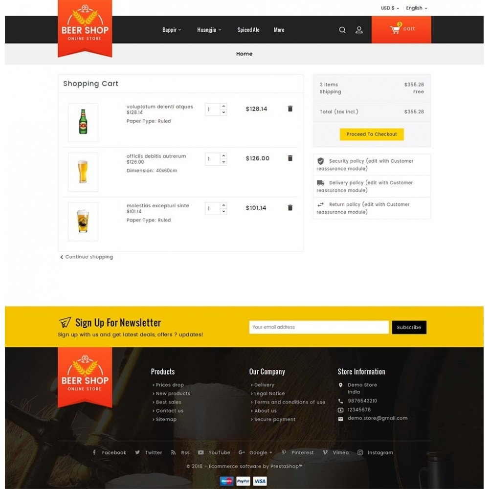 theme - Drink & Wine - Beer & Winery - 7