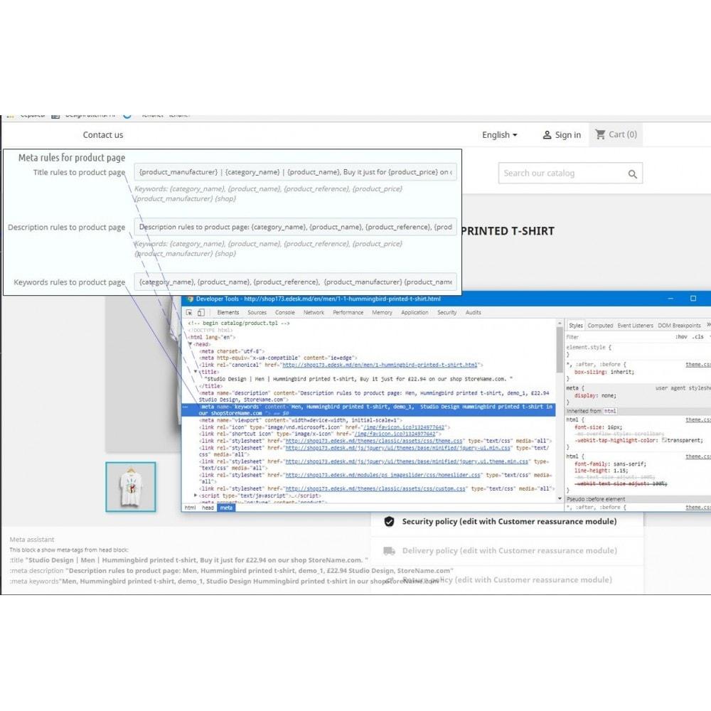 module - SEO (Posicionamiento en buscadores) - Seo Meta Rules - 6