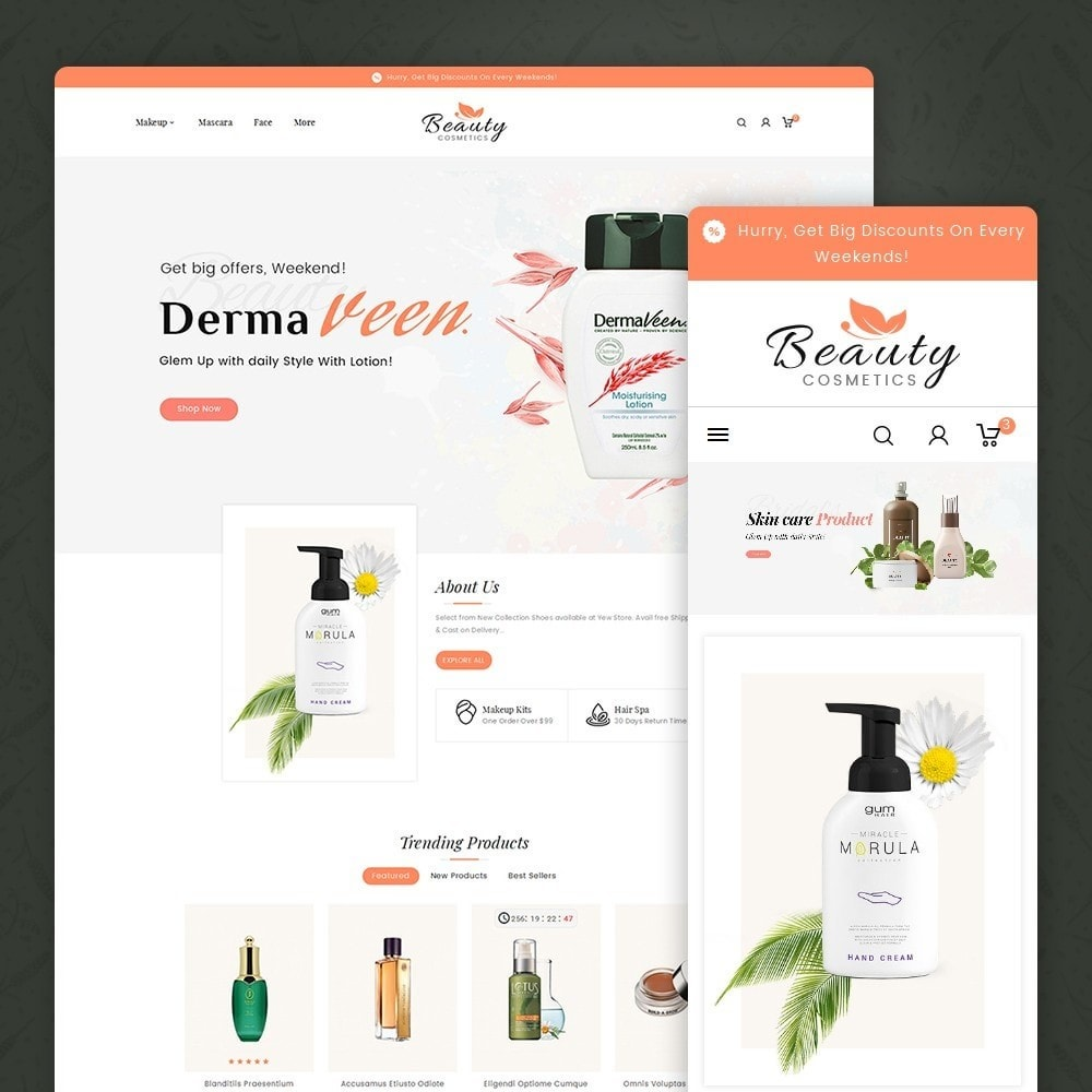 theme - Gesundheit & Schönheit - Beauty Spa & Cosmetics - 2