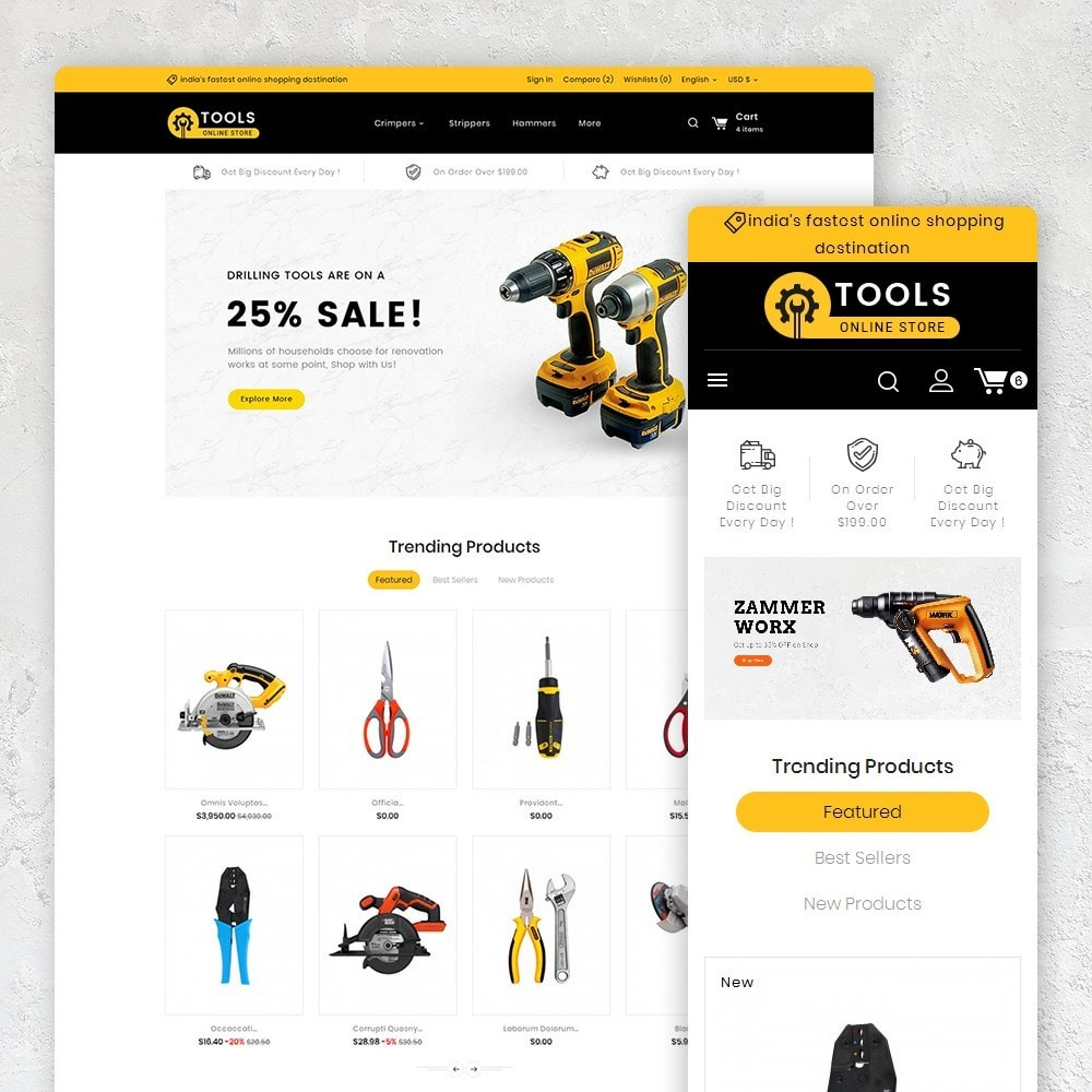 theme - Casa & Giardino - Tools Store - 2