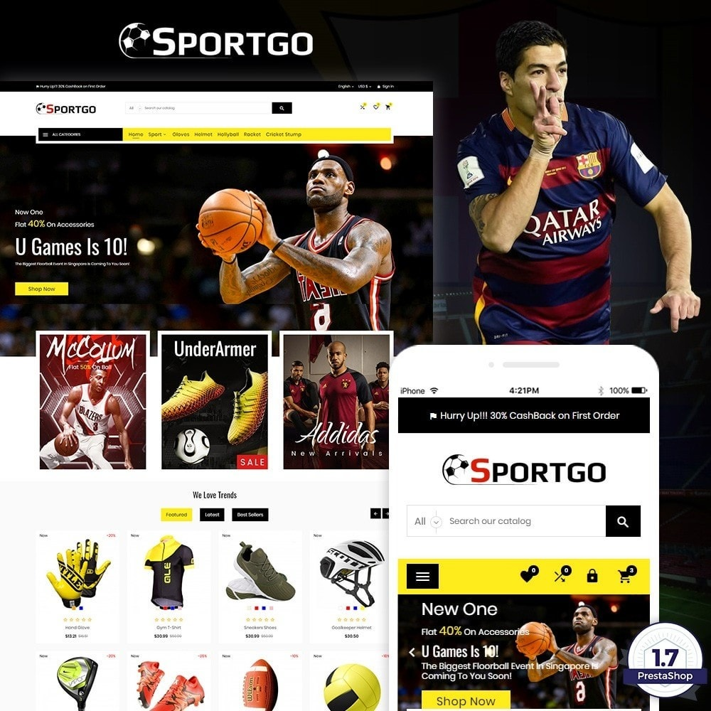 theme - Sports, Activities & Travel - SportGO – Sport Accessories Store - 1