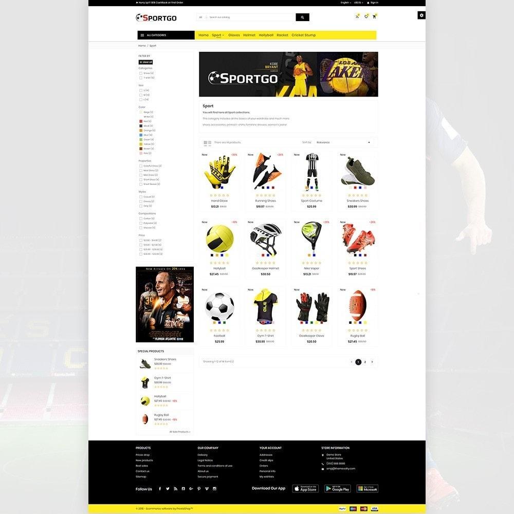 SportGO - Sport Accessories Store