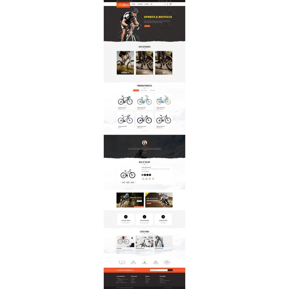 theme - Sport, Loisirs & Voyage - Sports Bicycle - 3