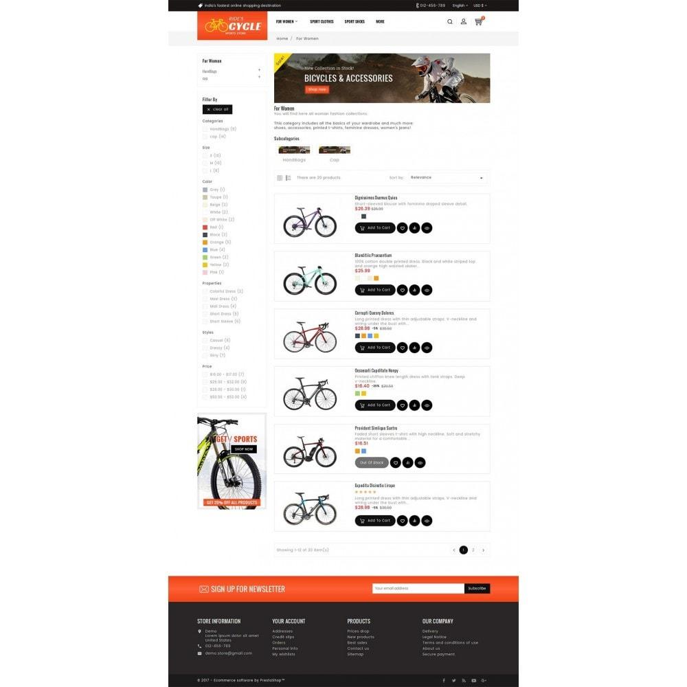 theme - Deportes, Actividades y Viajes - Sports Bicycle - 5