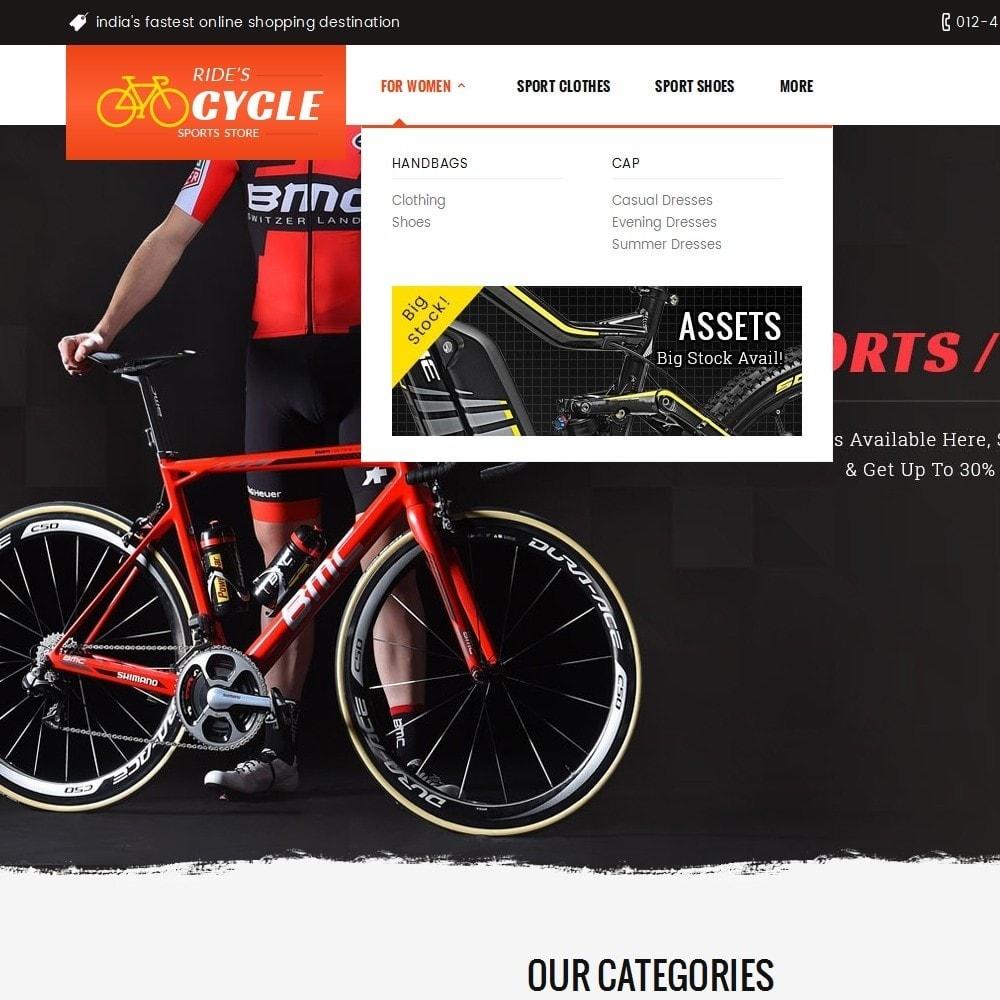 theme - Deportes, Actividades y Viajes - Sports Bicycle - 10
