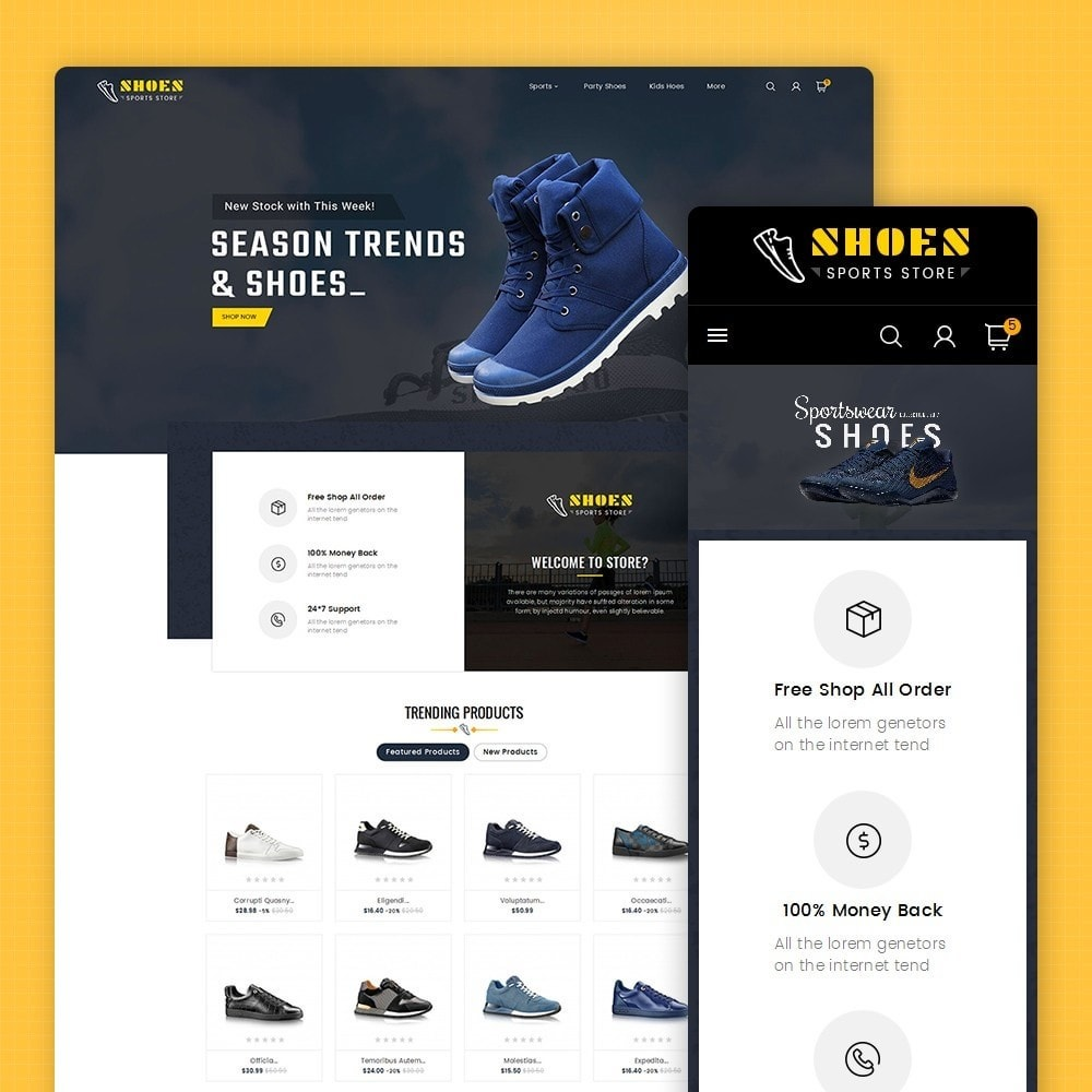 theme - Sport, Loisirs & Voyage - Shoes Sport Store - 2