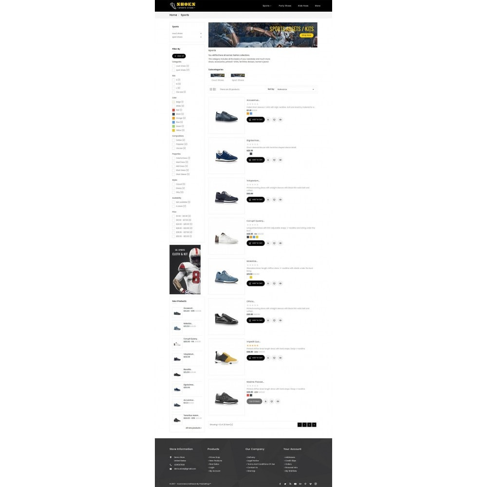 theme - Sport, Loisirs & Voyage - Shoes Sport Store - 5