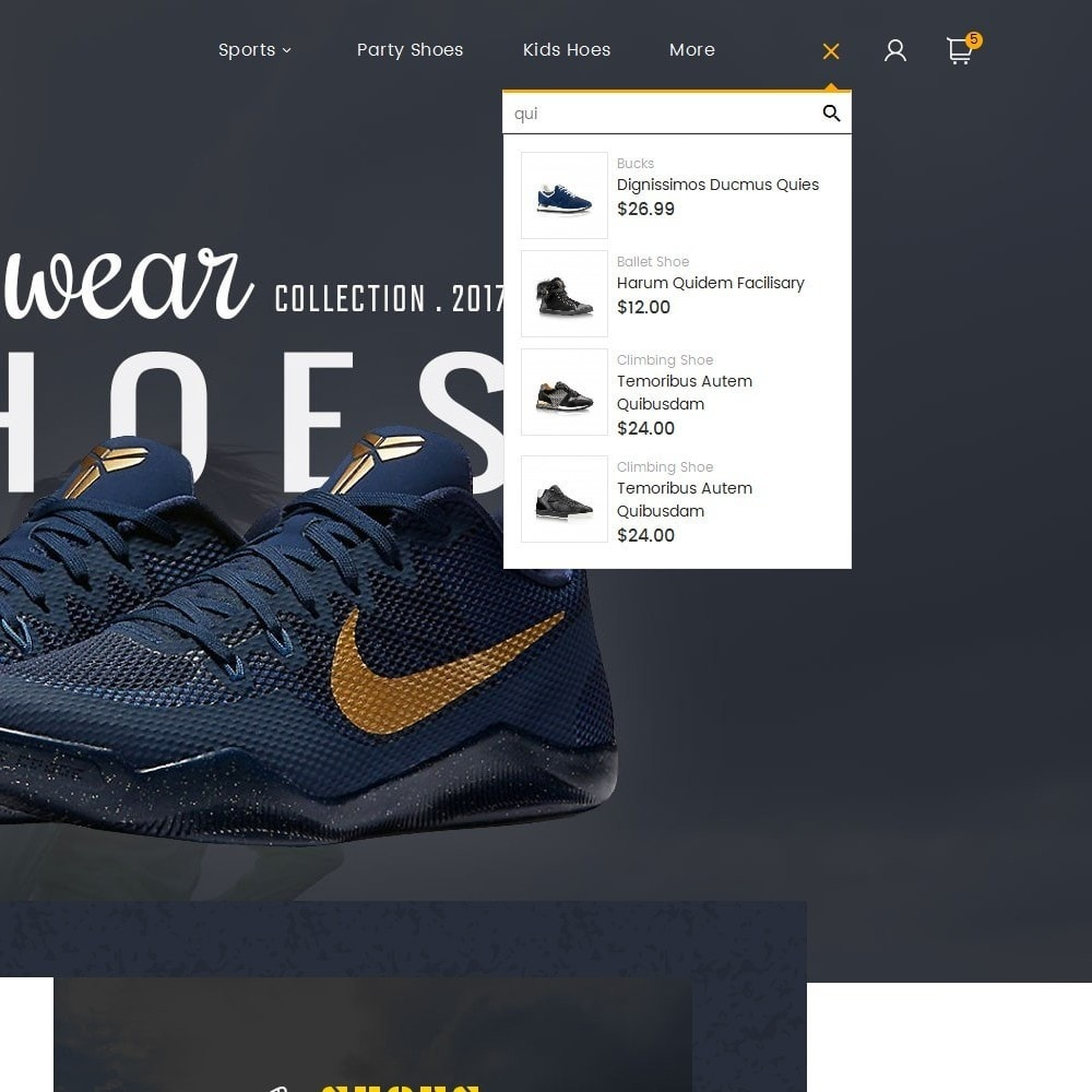 theme - Sport, Aktivitäten & Reise - Shoes Sport Store - 10
