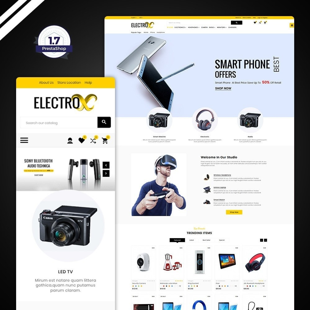 Electro - Electronic Mega Store