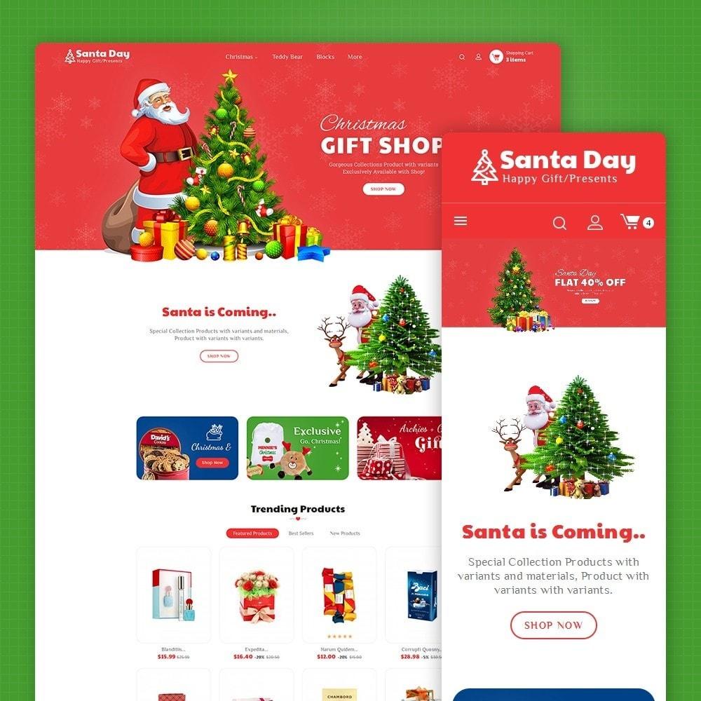 theme - Cadeaux, Fleurs et Fêtes - Santa Gift Store - 2