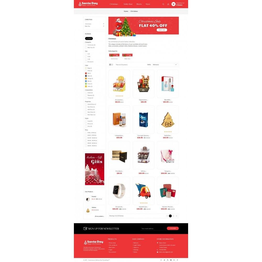 theme - Cadeaux, Fleurs et Fêtes - Santa Gift Store - 4