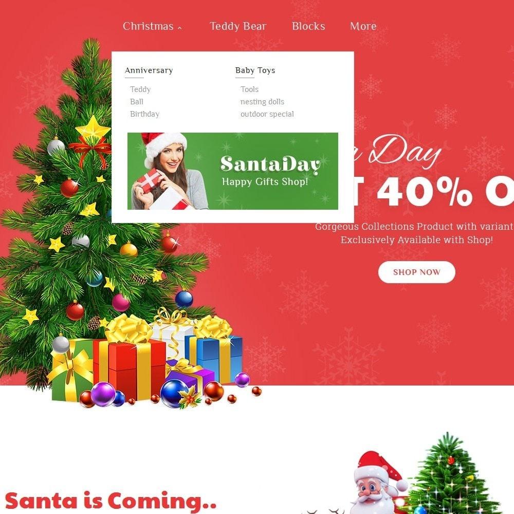 theme - Regali, Fiori & Feste - Santa Gift Store - 9