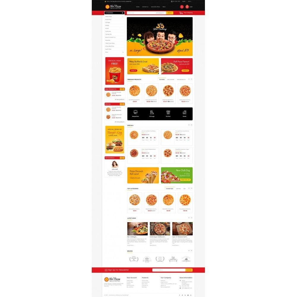 Paprika Pizza - Fast Food