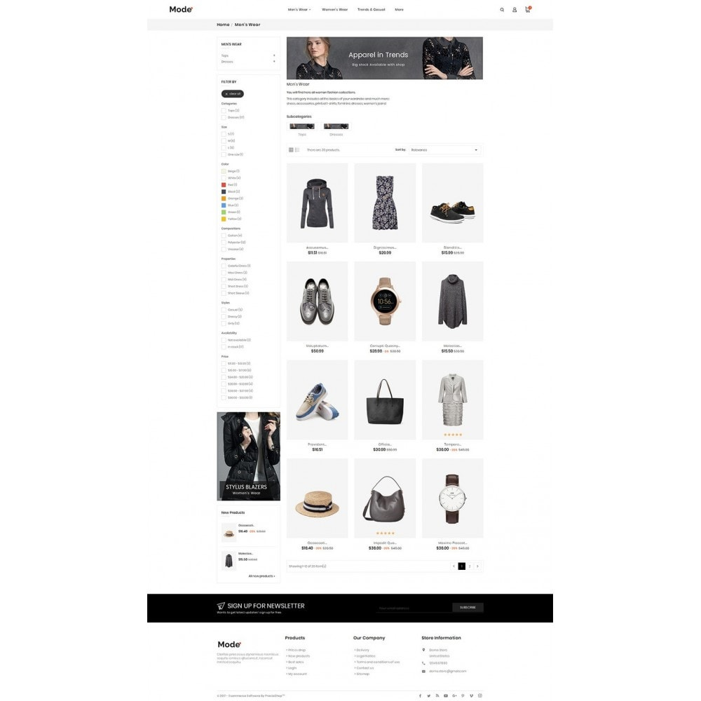 theme - Mode & Chaussures - Mode Fashion - 4