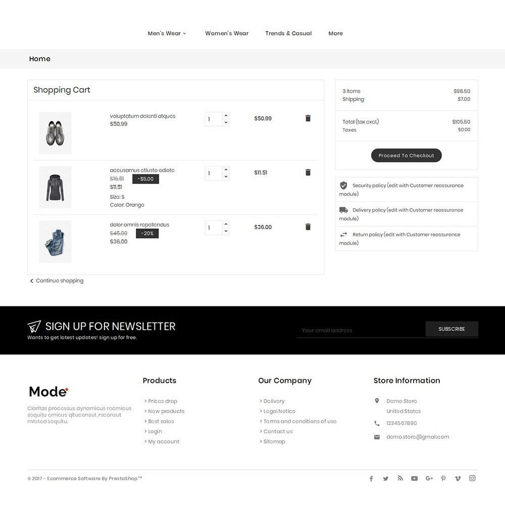 theme - Moda y Calzado - Mode Fashion - 7