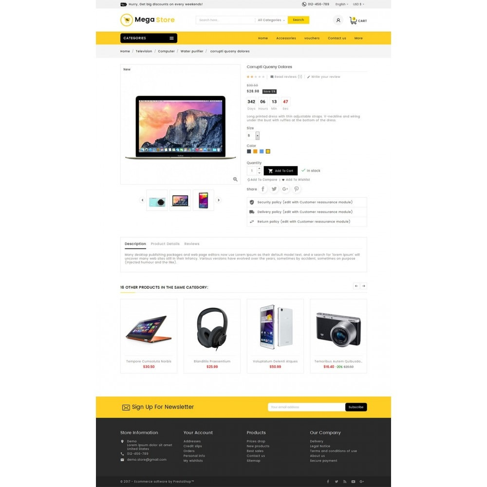 theme - Elektronik & High Tech - Mega Store Electronics - 6