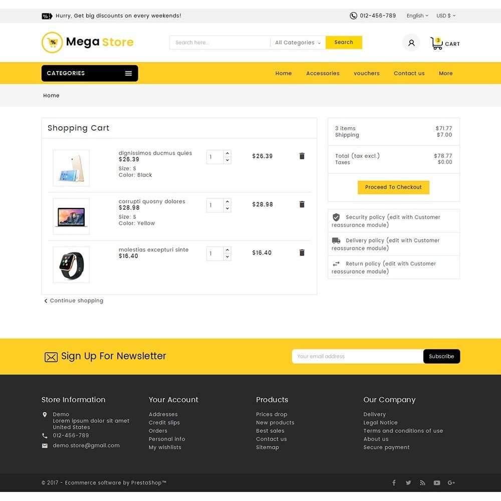 theme - Elektronik & High Tech - Mega Store Electronics - 7
