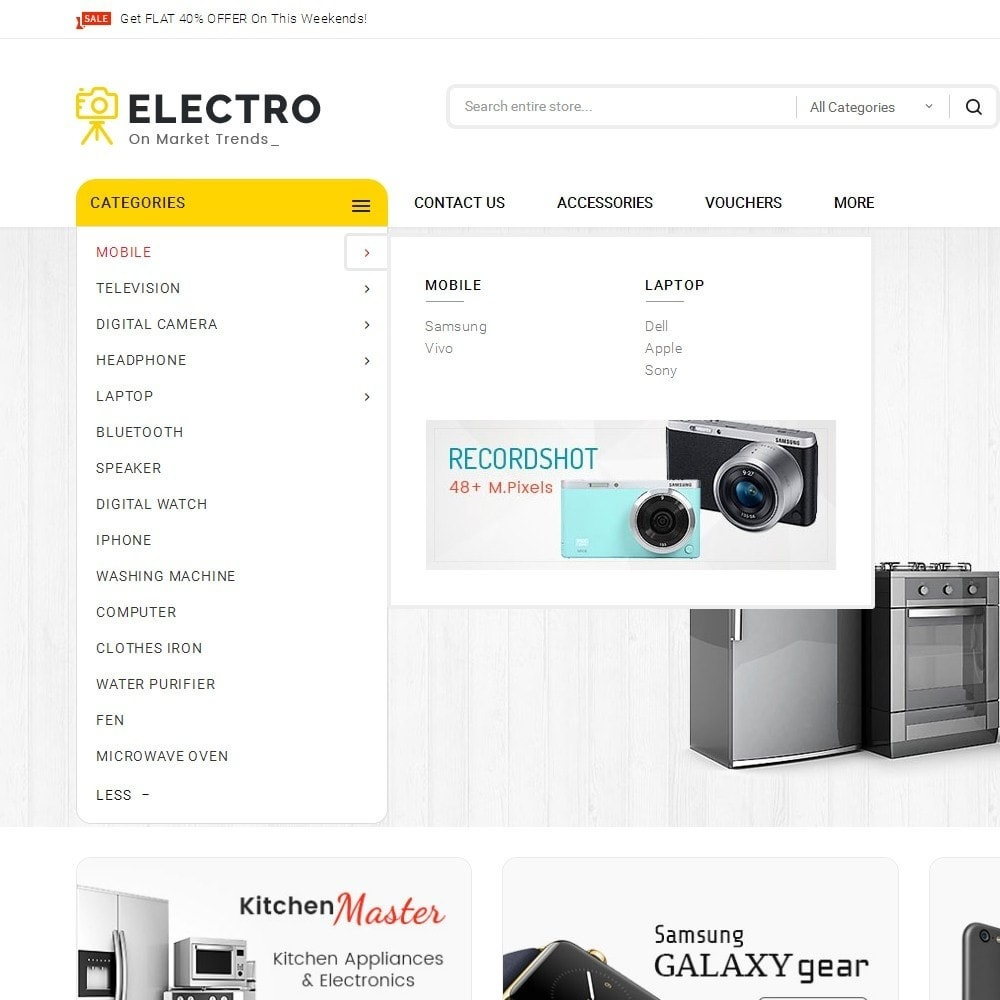 theme - Elettronica & High Tech - Mega Electronics Store - 9
