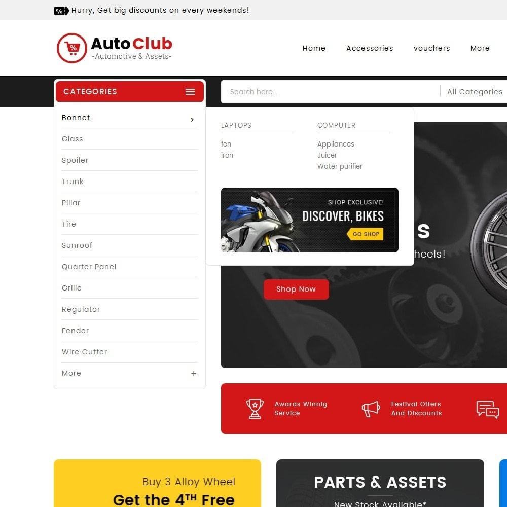 theme - Auto & Moto - Mega Auto Parts - 9