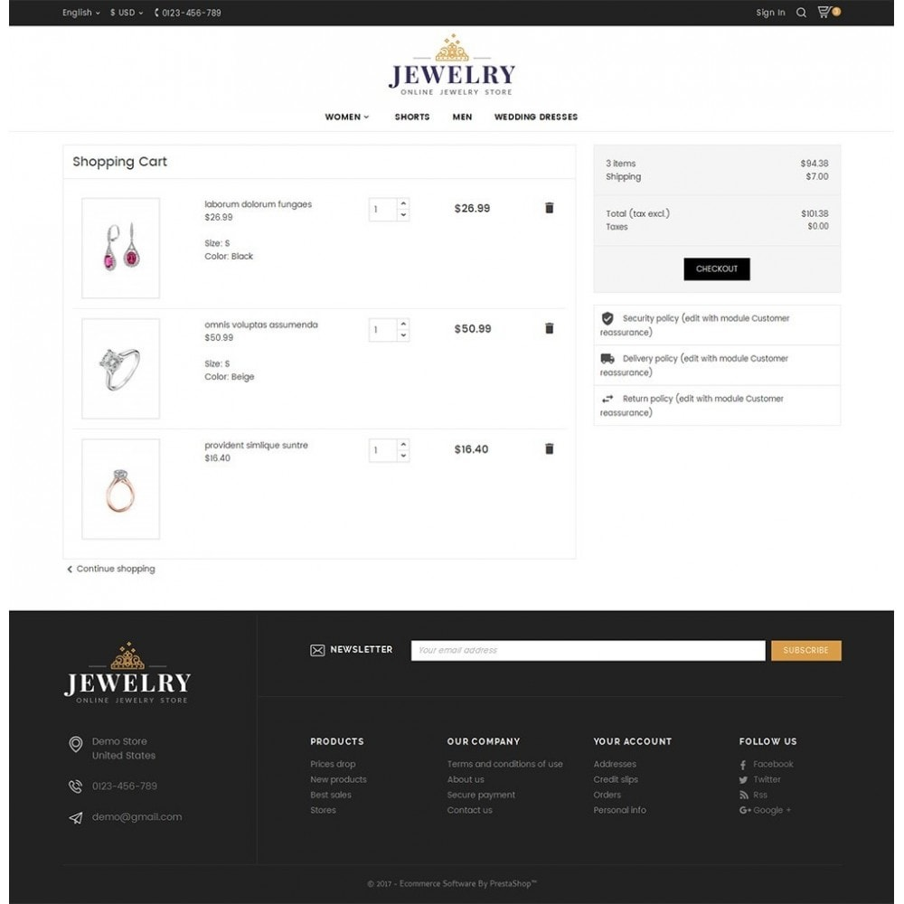 theme - Joyas y Accesorios - Jewelry Store - 7
