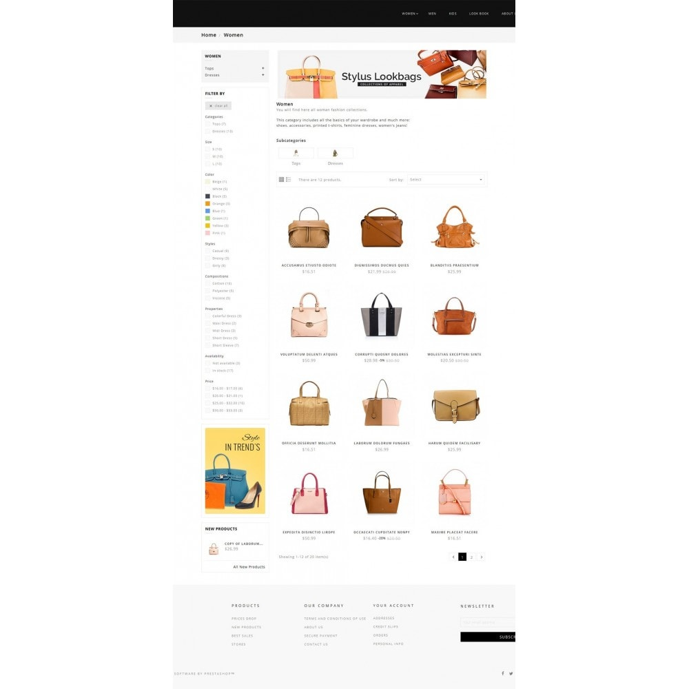 theme - Mode & Chaussures - Fashion Bag Store - 4