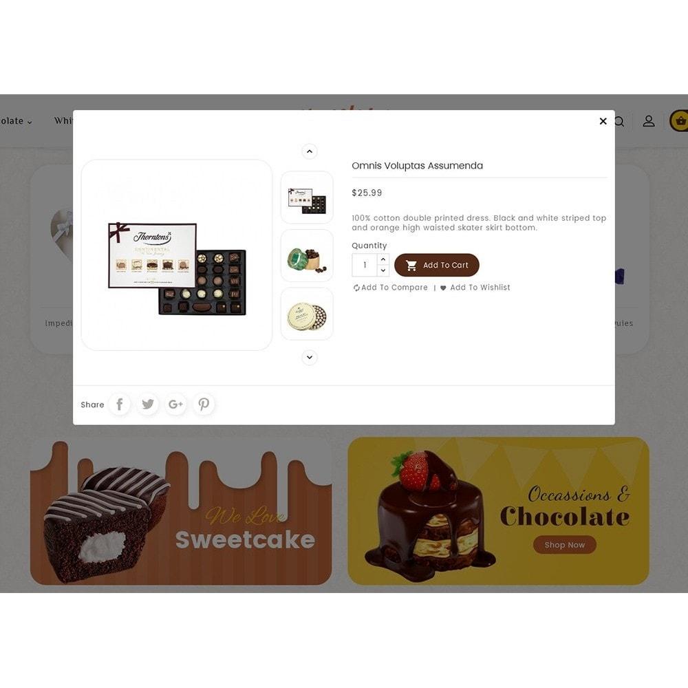 theme - Cadeaux, Fleurs et Fêtes - Chocolate Cream - 8