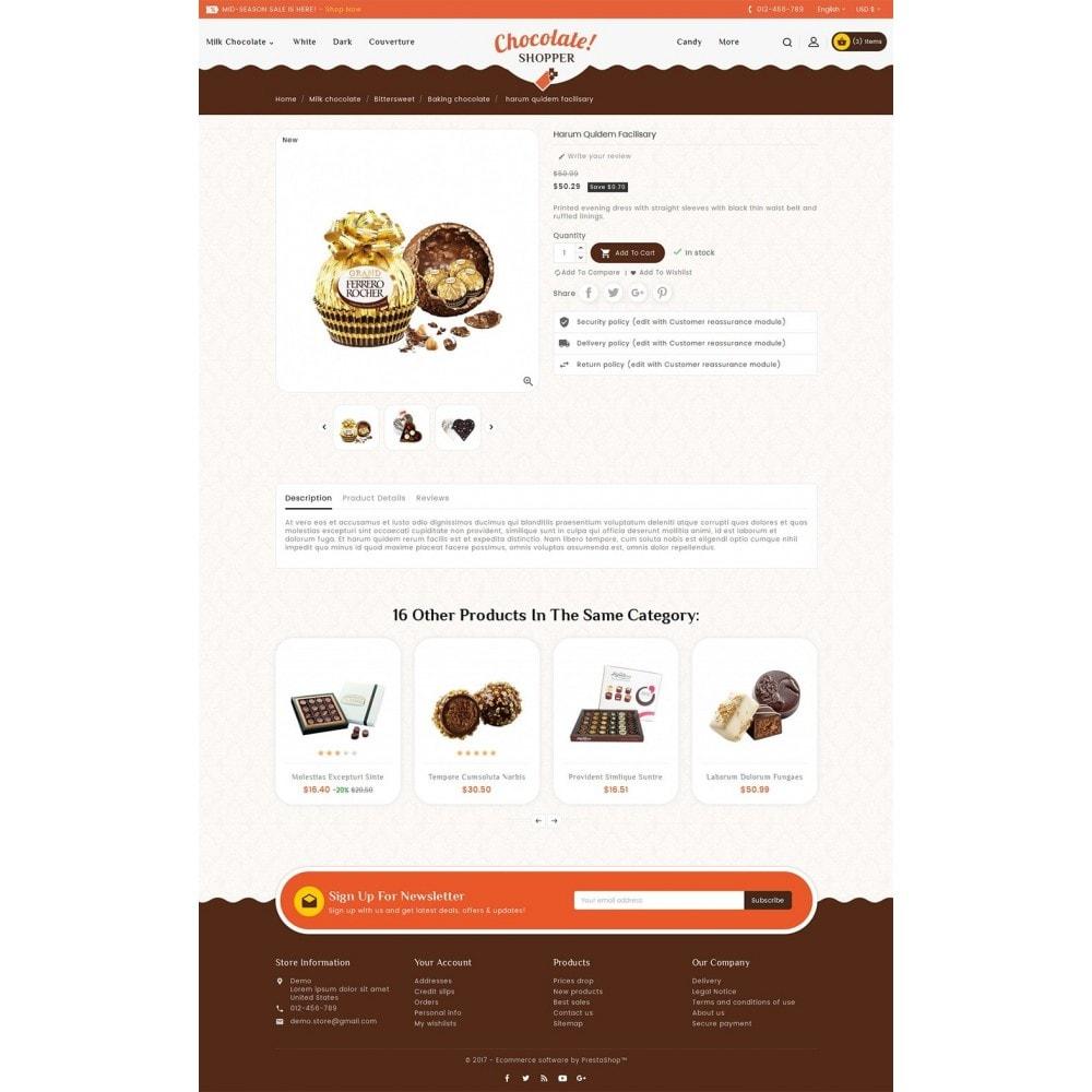 theme - Geschenke, Blumen & Feiern - Chocolate Cream - 6
