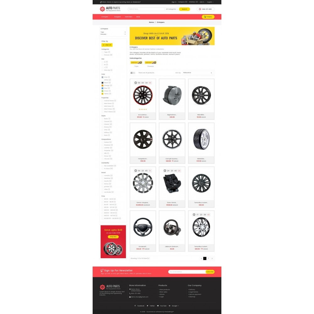 theme - Auto & Moto - Auto Equipment Parts - 4