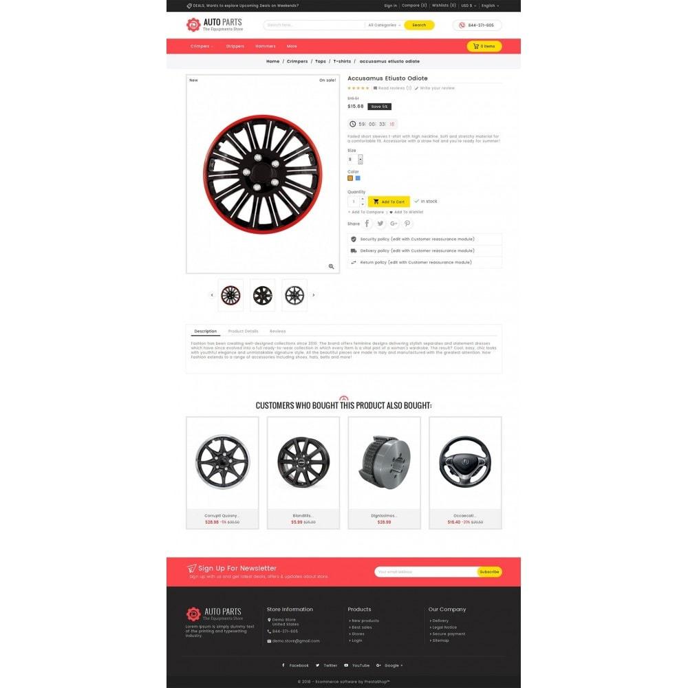 theme - Coches y Motos - Auto Equipment Parts - 6