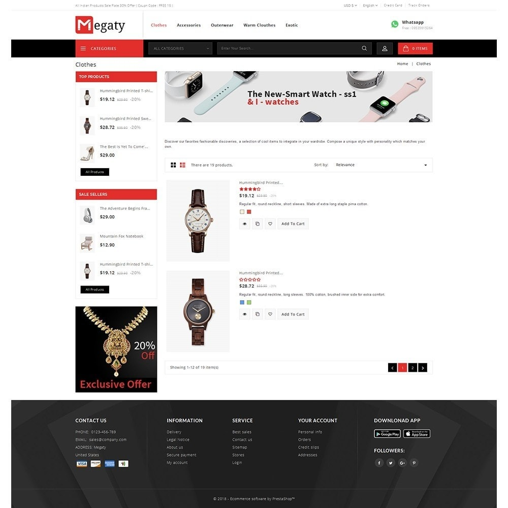 theme - Mode & Chaussures - Megaty Store - 4