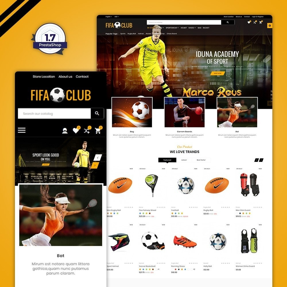 Fifa Club Sports and Accessories Store