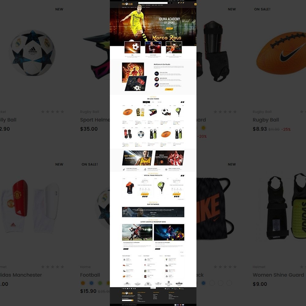 theme - Sport, Aktivitäten & Reise - Fifa Club Sports and Accessories Store - 2
