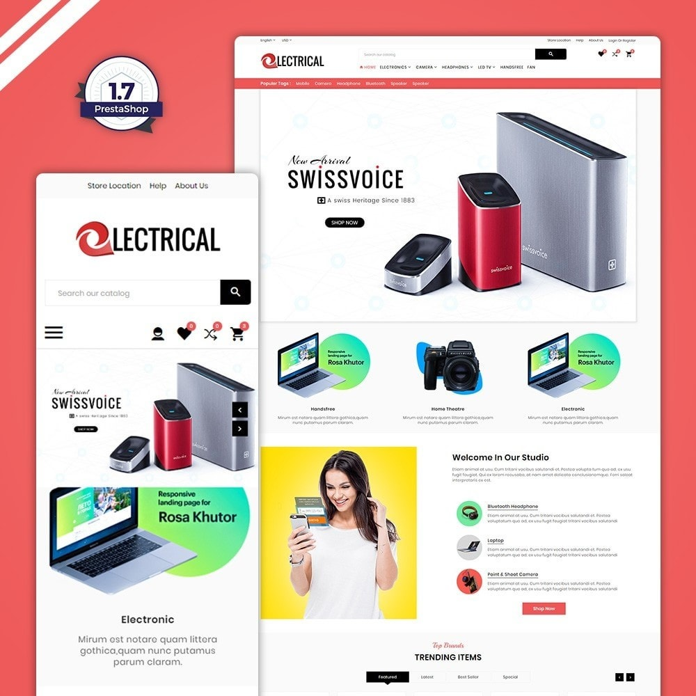 Electrical - Electronic & Accessories Store