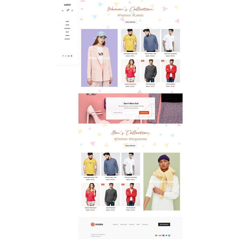 theme - Fashion & Shoes - Lucci - 9