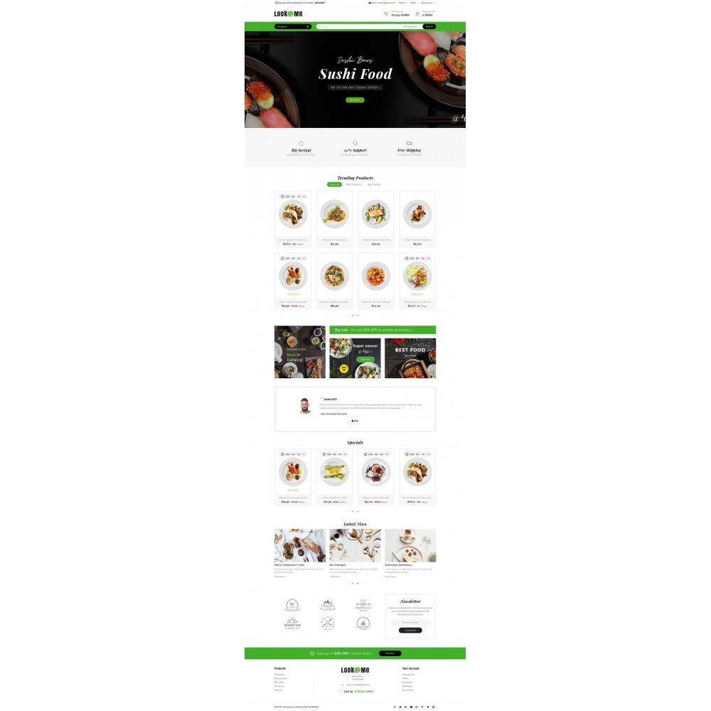 theme - Alimentos & Restaurantes - Look me Restaurant Food - 2