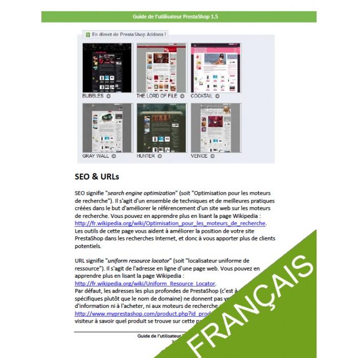 other - Guide utilisateur PrestaShop - Guide utilisateur PrestaShop 1.5 - 3